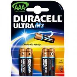 DURACELL LR03 - AAA M3 - Blister x 4