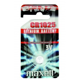 MAXELL Pile Bouton Lithium - CR1025 Standard