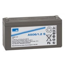 EXIDE Sonnenschein 6V - 1,2Ah - Dryfit A500 - Bac VO - A506/1.2S