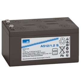 EXIDE Sonnenschein 12V - 1.2Ah - Dryfit A500 - Bac VO - A512/1.2S