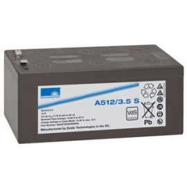 EXIDE Sonnenschein 12V - 3.5Ah - Dryfit A500 - Bac VO - A512/3.5S