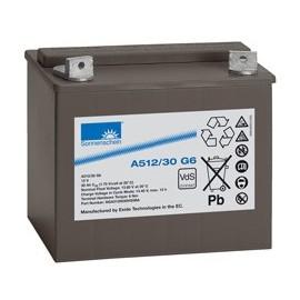 EXIDE Sonnenschein 12V - 30Ah - Dryfit A500 - G6 - A512/30G6