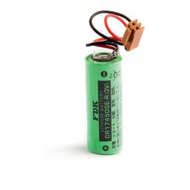 CHRONO Pile Lithium CR17450 - 3V - 2500mAh + Connecteur