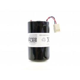 CHRONO Pile Batterie Alarme Compatible FICHET - D - LSH20 - 3,6V - 13,0Ah + Connecteur