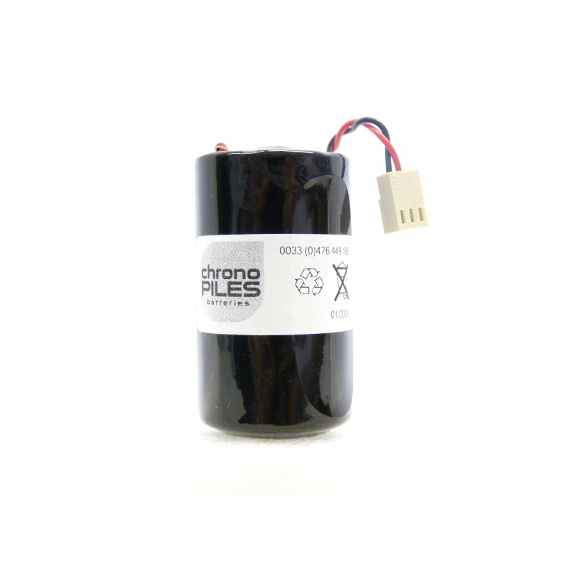 chrono pile batterie alarme compatible fichet d lsh20 3 6v 13 0ah connecteur. Black Bedroom Furniture Sets. Home Design Ideas