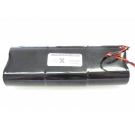 CHRONO Pile Batterie Alarme Compatible RESIDENCIA 3 / Surtec - 6LR20 Alcaline - 9V - 18Ah + Connecteur