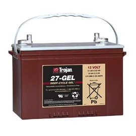 TROJAN 12V - 91Ah - 27TMX GEL - DEEP CYCLE GEL