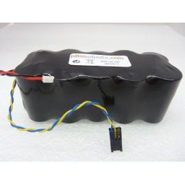 CHRONO Pile Batterie Alarme Compatible NOXALARM - C - Alcaline - 12.0V/15.0V - 7.75Ah + Connecteur