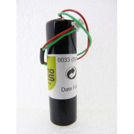 CHRONO Pile Batterie Alarme Compatible SILENTRON - AA - 3.6V - 2.4Ah + Connecteur Contact Porte