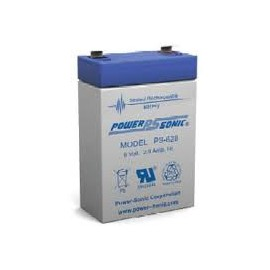 ENERGY SAFE 6V - 2.8Ah - Energy Safe - AGM - Compatible Powersonic PS628
