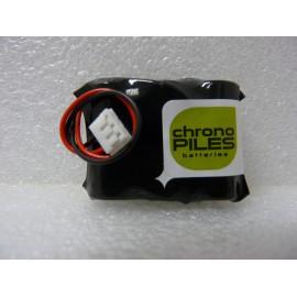 CHRONO Pile Lithium 2/3AA + Connecteur - 3.6V - 1500mAh - VENTIS 4