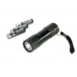 ANSMANN Lampe torche LED Action9 en métal