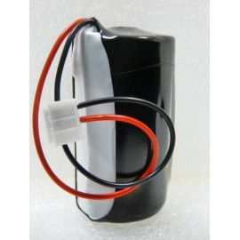 CHRONO Pile Batterie Alarme Compatible LABEL CESAR BL72 - C - LS26500 - 3.6V - 8.5Ah + Connecteur