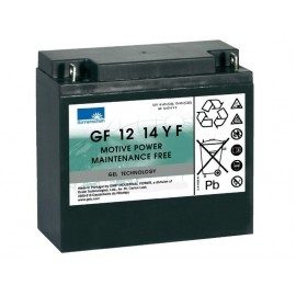 EXIDE Sonnenschein 12V - 14,0Ah - Dryfit A500C - G5 - GF12014YF