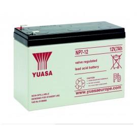 YUASA 12V - 7Ah - NP7-12 - AGM