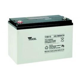 YUCEL 12V - 100Ah - Y100-12 - AGM