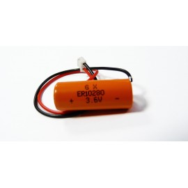 PANASONIC PACK Pile Lithium ER10280 - 3,6V - 500mAh + Connecteur