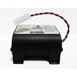 CHRONO Pile Batterie Alarme Compatible SILENTRON - D - LSH20 - 7.2V - 13Ah + Connecteur