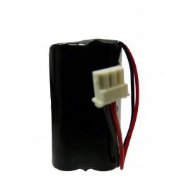 CHRONO Pile Batterie Alarme Compatible SURTEC I@N - AA - 3.6V - 4.8Ah + Connecteur