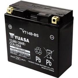 YUASA Batterie de Moto 12V - 12Ah - YT14B-BS