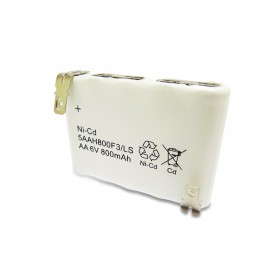 YUASA PACK Batterie Compatible NiCd 6V 800mAh - 5VTAA600 - 803982