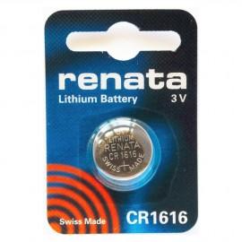 RENATA Pile Bouton Lithium - CR1616 Standard