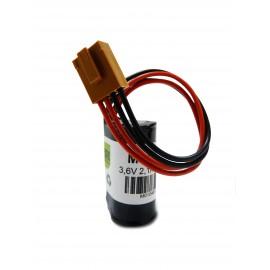 Pile LS17330 - Lithium - 3,6V - 2100mAh + Connecteur