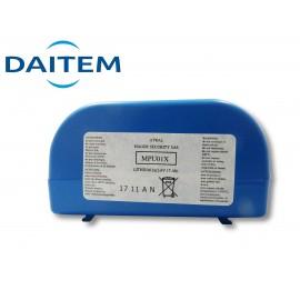 Pile Lithium DAITEM d'origine MPU01X - 2 x 3.6V - 17Ah